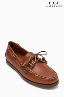 Polo Ralph Lauren® Tan Merton Boat Shoe