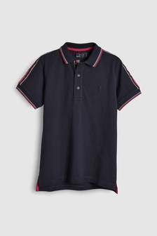 Short Sleeve Taped Polo (3-16yrs)