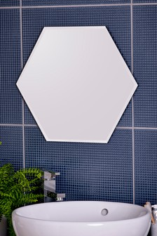 Hexagon Large Wall Mirror