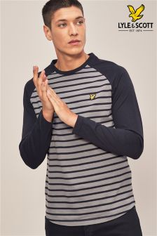 Lyle & Scott Baseball Breton Top