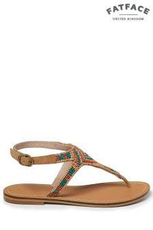 FatFace Coral Ellis Embellished Sandal