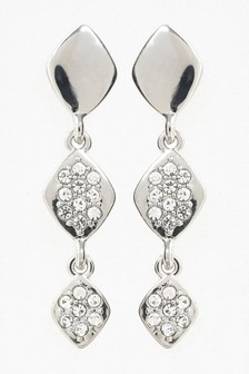 Sparkle Effect Bead Drop Earrings