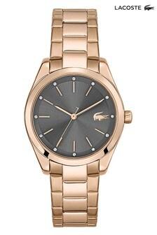Lacoste Parisienne Carnation Gold IP Watch
