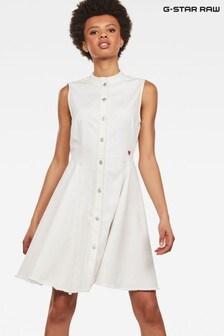 GStar Light Wash Bristum Slim Fit Dress
