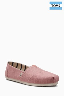 Toms Rose Canvas Alpargata Pump