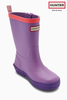 Hunter Original Colourblock Davison Wellington Boot