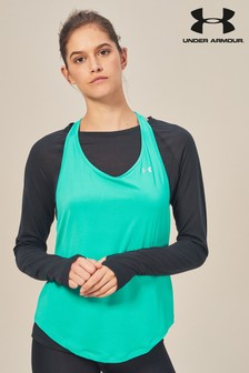 Under Armour Green Mesh Tank Top
