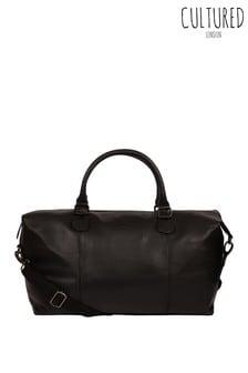Cultured London Navigator Leather Holdall