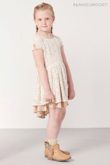 Angel & Rocket Ivory Lace Dress