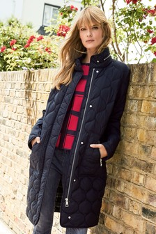 Long Quilt Jacket