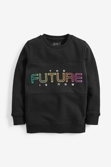Embroidered Future Crew Top (3-16yrs)