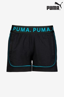 Puma® Black/Teal Chase Short