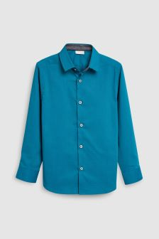 Long Sleeve Smart Stretch Shirt (3-16yrs)