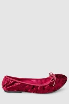 נעלי בובה מתקפלות