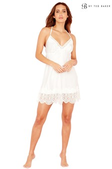 be2d027c4 B by Ted Baker Ivory Tie The Knot Bridal Chemise