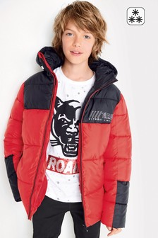 Colourblock Padded Jacket (3-16yrs)