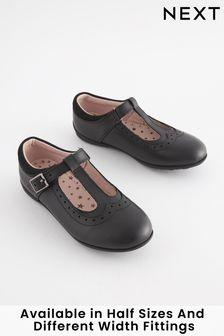 T-Bar Leather Shoes (Older)