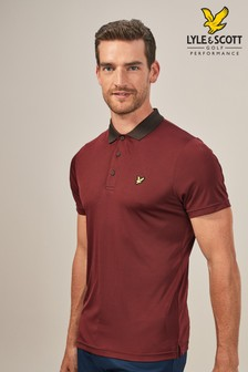Lyle & Scott Golf Kinloch Stripe Poloshirt