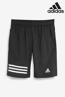 adidas Black 3 Stripe Short