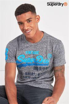 Superdry Grey Script T-Shirt