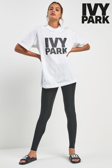 Ivy Park Black Mid Rise Tight