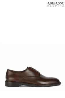 Geox Mens Artenova Dark Brown Shoes