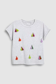 Tassel T-Shirt (3-16yrs)