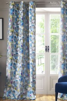 Ashley Wilde Shola Eyelet Curtains