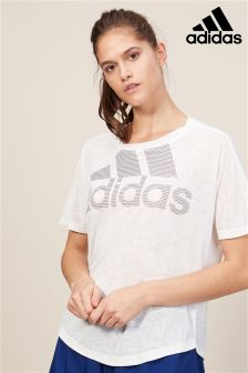 adidas White Magic Logo Tee