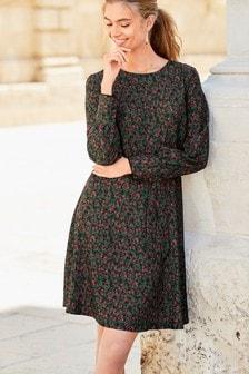 Print Tea Dress