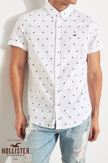 Hollister White Pineapples Shirt
