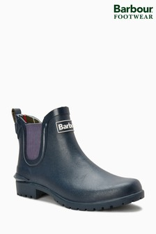 Barbour® Wilton Navy Chelsea Boot