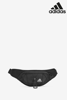 adidas Black Run Waist Bag