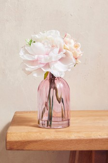 Pretty Floral Vase : faux flowers in vase - startupinsights.org