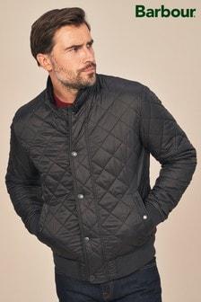 Barbour® Black Edderton Quilted Jacket