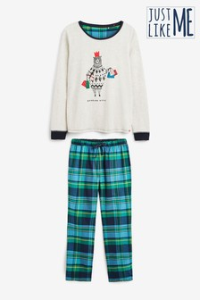 Bear Slogan Pyjamas