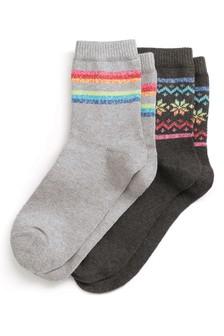 מארז שני זוגות גרביים תרמיות