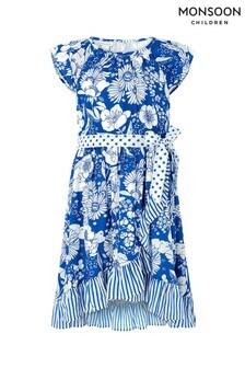 Monsoon Blue Meave Dress