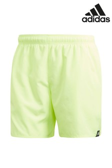 adidas Yellow Swim Short