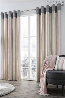 Fusion Rydell Stripe Curtains
