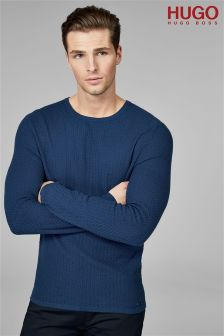 HUGO Navy Senor Jumper