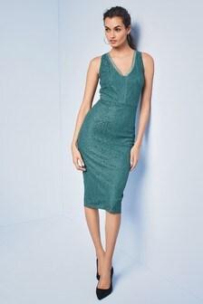 Velvet Fluted Sleeve Midi Dress With Open Back - Burgundy True Violet Fashionable New Arrival Sale Online qTZsDBVM