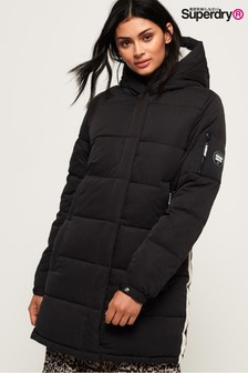 Superdry Black Padded Coat