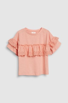 Broderie Blouse (3-16yrs)