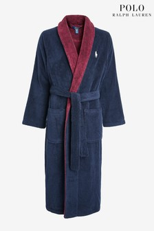 Polo Ralph Lauren Navy Big PP Robe
