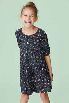 Floral Tiered Dress (3-16yrs)