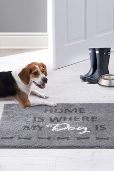 Home Is Where My Dog Is Doormat