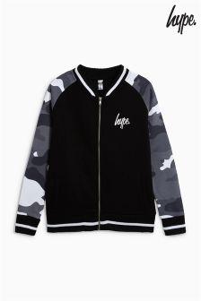 Hype. Mono Camo Varsity Jacket