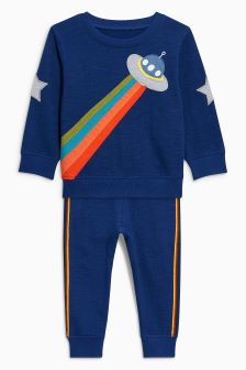 Crew And Joggers Set (3mths-6yrs)