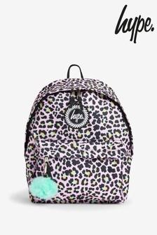 Hype. Leopard Print Backpack